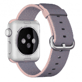 Ремешок нейлоновый Special Nylon для Apple Watch 2 / 1 (38мм) Light pink/Midnight blue