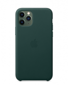 Чехол для iPhone 11 Pro Max Silicone Case зеленый