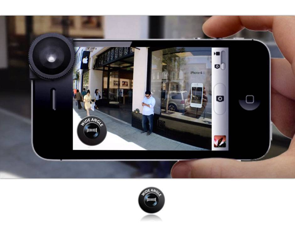 Приложение для айфона широкоугольные фото